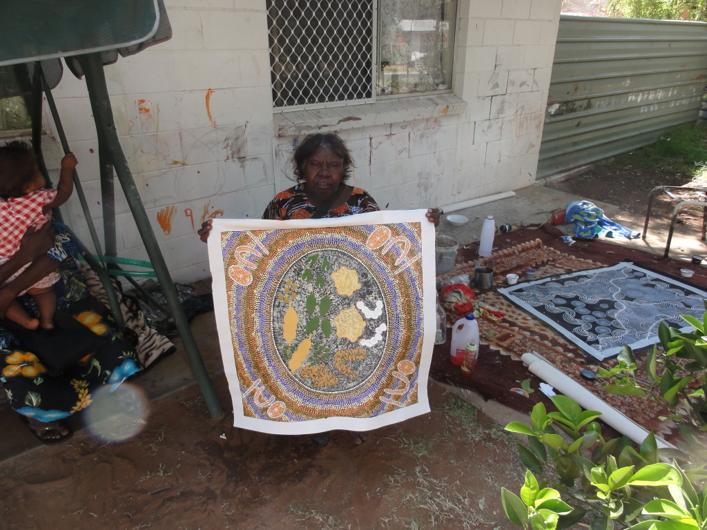 Walpiri women dreaming artwork | Tji Tji Doctor